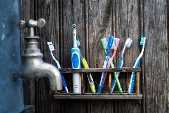brosse à dent électrique
